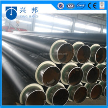 built on stilts thermal resistant pipe in pipe with hdpe outer casing and rigid foam filled inside hot chilled water