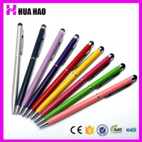 Newest business gift 2013 hottest custom promotional pen thin ball pen with customized logo