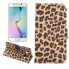New products leather wallet flip case for Galaxy S6 edge with different style