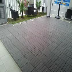 WPC car park tiles design outdoor floor tiles car showroom wpc floor tiles