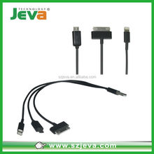5in1 mobile phone data cable high quality wholesale flexible usb cable