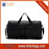 High quality black waterproof nylon travel bag
