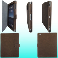 2015 New Fashion Design Shockproof Leather Vogue Tablet Cover For iPad 2/3/4