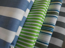cheap navy blue and white stripe fabric from China