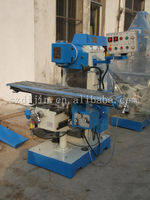 manual universal milling machine