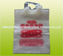 HOT SALE Customizable printing handle plastic bag for gift