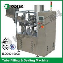 Dental Cream Lotion Tube Filling And Sealing Machine