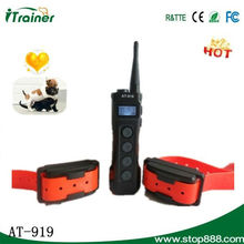 Remote dog electronic dog training camp with big LCD display