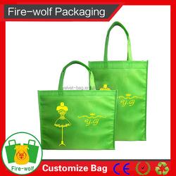 Eco-Friendly Pp Waterproof Metallic Non Woven Bag Wholesale