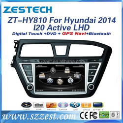 ZESTECH 8 inch In-dash touch screen car dvd player for hyundai i20 best selling car accessories