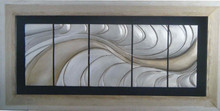 wholesale shadow box hotel art decoration asian wood wall art