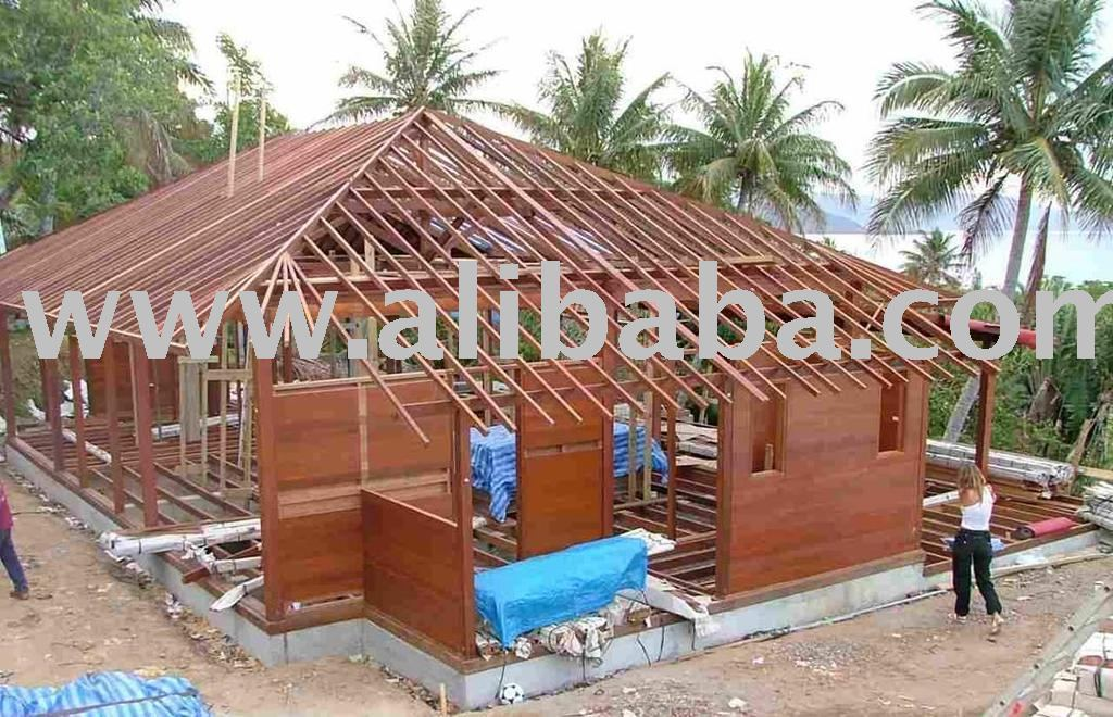 Two Bedroom Cottage Wooden House Buy Wooden House