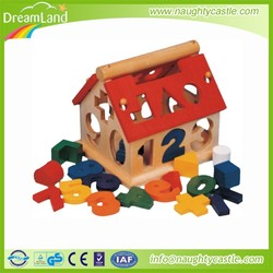 Guangzhou children wooden toy / wooden toy house