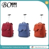 low price travel luggage bags wheeled duffle bag with trolley