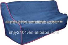 colore blu di grandi dimensioni divano copertura non tessuta divano mobile imbottito oem fabbrica miglior prezzo e qualità in movimento coperta per divano