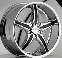 17'' 18'' new design beautiful chrome alloy wheels/5x114 car aluminum wheels