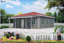 2015 Hot Sell China Luxury Prefabricated House Prices with Light Steel Structure