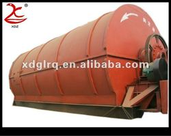 G6-20 tons Waste Tire Refining Machine for Recycling Tyre Plastic to Oil
