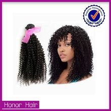 Alibaba China new products women hair 100% human remy hair Malaysian afro kinky curl sew in hair weave