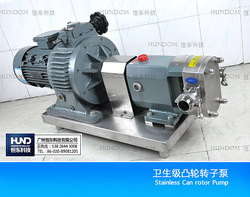 Sanitary Stainless Steel Rotary Lobe Pump for Chemical Liquid
