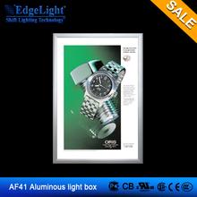AF41 Hight Quality Photo Light Box kit/Picture Frame LED Light Box led picture