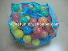 pe ball in inflatable pool for baby