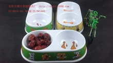 Dural melamine dog bowl plastic pet food drinking bowl cheap