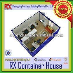 RX Sandwich Panel Movable Prefabricated Office Container Drawing