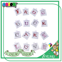 Top Selling Good Material Special Design Self Adhesive Decorative Clear Diamond Crystal Glass Sticker