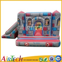 Amazing inflatable cartoon castle combo