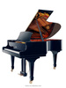 Import musical instruments baby grand piano, for sale piano