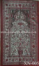 Jacquard 100% chenille carnal prayer rug XN-005