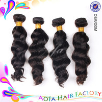 Wholesale black beauty supply 100% virgin unprocessed human hair