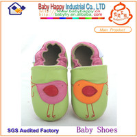 MOQ 150pure hand spanish leather soft sole wholesale baby shoes