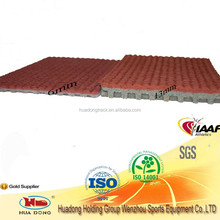 All weather use environmental friendly flooring indoor&outdoor sports court rubber athletic track