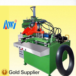 motorcycle tube splicing machine/bicycle tyre tube jointing machine/ motorcycle tube making machine