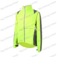 High vis bike riders jackets