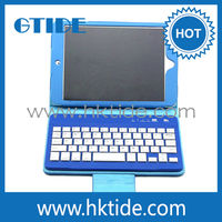 hot new products for 2015 mini pu leather bluetooth keyboard case for ipad