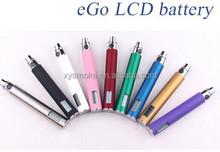 Brand new ecig ego LCD 650/900/1100mAh ego t battery