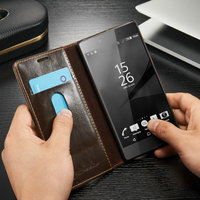 Luxury Wallet Case For Sony Z5/Magnetic Case For Sony Z5/Amazon Top Selling Case For Sony Z5 Christmas Gifts
