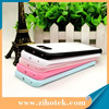 High quality 2D sublimation blank rubber case for Samsung S6 edge with metal and glue