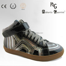 genuine leather sport sneaker from China