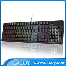 new design high quality 104 keys backlit wired mechanical keyboard