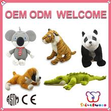 ICTI Factory supply soft cute custom parrot stuffed animal
