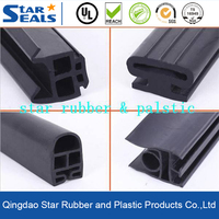 Solid EPDM/Silicone Customized Rubber Seal Strip For Door And Window