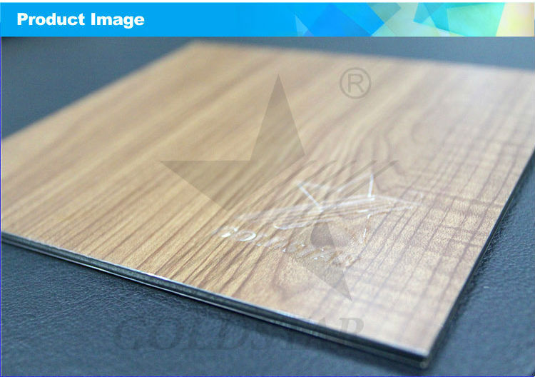 Alucbond Wood Grain Decorative ACP ACM Wall Panel (4)
