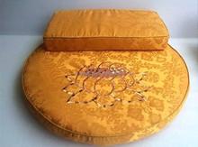 high quality lotus meditation cushion buddhist supplies lotus zafu futon wholesale Zabuton cushions