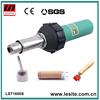 Hot air plastic welding gun for pvc tarpaulin