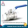 Casting iron handle BSP thread brass material psi 600 middle pressure hot sell high pressure quick coupling ball valve