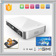 Mini built-in dvd projector low power consumption led dlp video projector